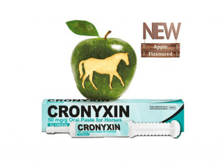 Bimeda UK launches Cronyxin 50m/g Oral  Paste for Horses (apple flavoured flunixin paste)