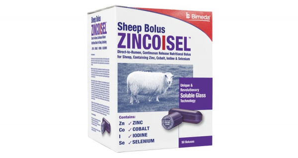Zincoisel Sheep Bolus